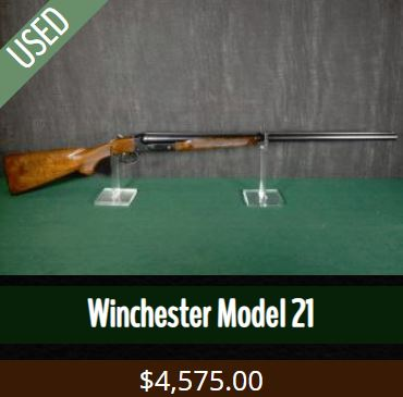 Winchester Model 21 for sale